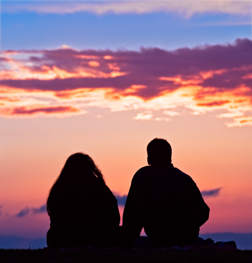 Image result for couple sunset