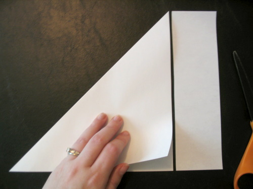 Paper Snowflake tutorial - Step 1 | Part 1: How to fold Part