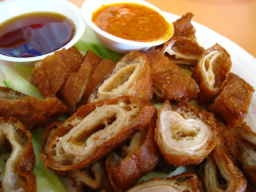 Fried Pig's Intestines - Old Airport Road Hawker Centre
