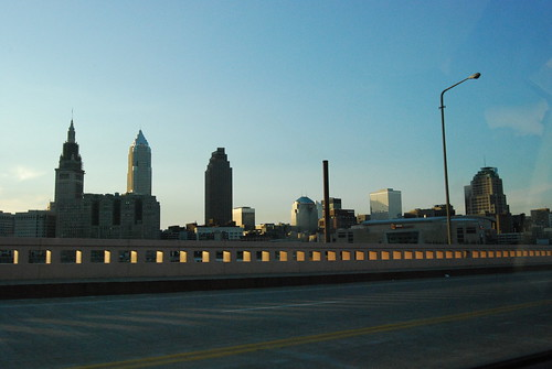 Cleveland skyline | by DarleneEats