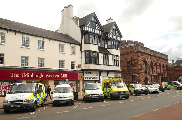 Carlisle: Cumbrian Police Vehicles