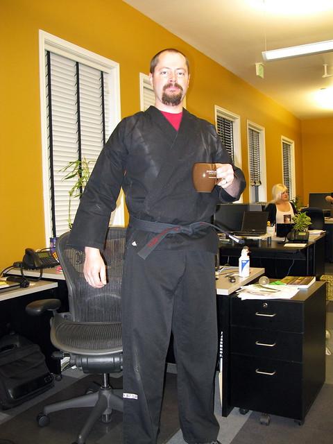Blackbelts Need Coffee, Too