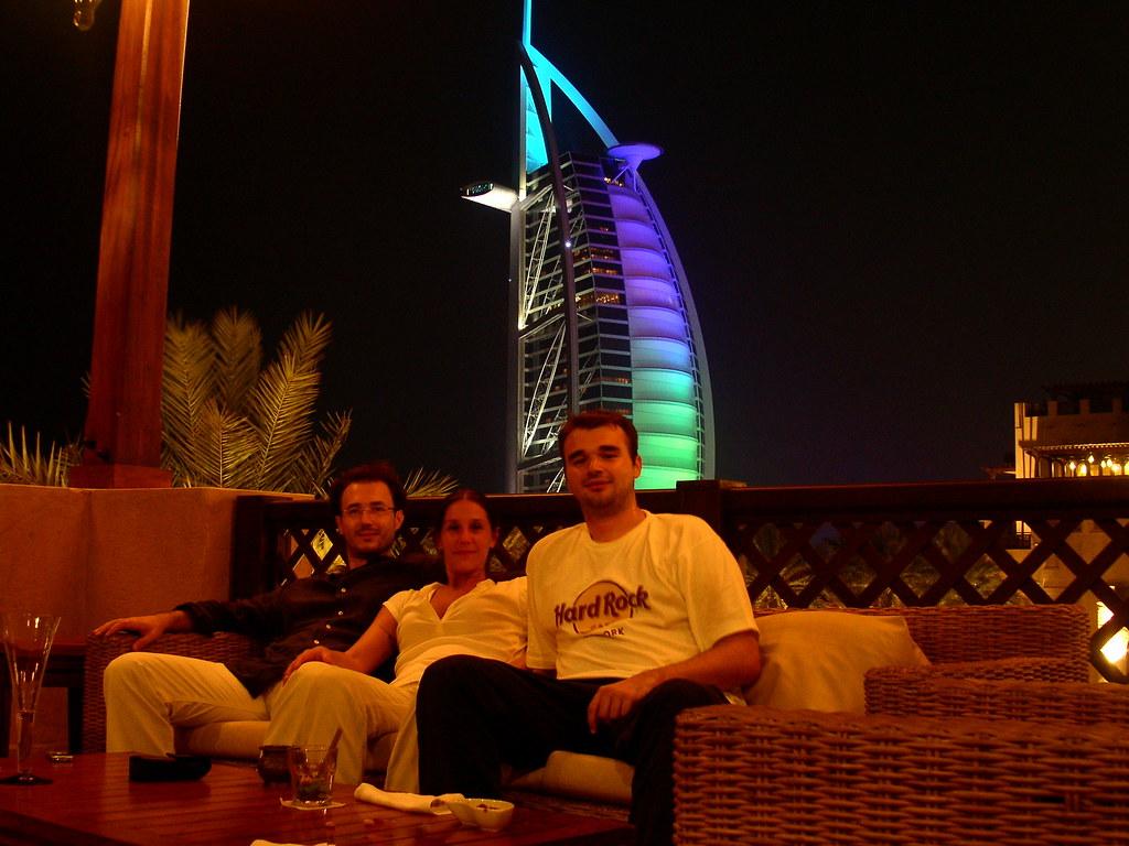 Restobar with Burj khalifa view