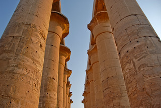 Temple of Luxor, columns and capitals  #4 | by superblinkymac