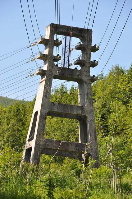The Glomfjord Power Station–Glomfjord Industrial Park power line / Kraftledningen Glomfjord kraftverk–Glomfjord Industripark