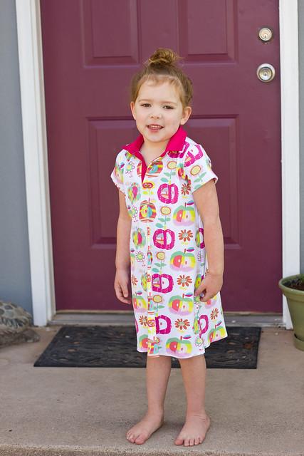 Polo dress.