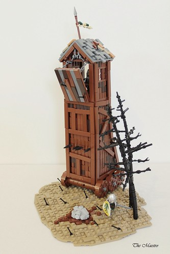 Avalonian siege tower