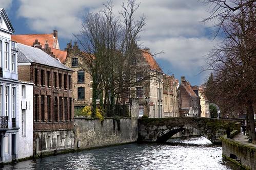 6984 canal at Brugge Belgium
