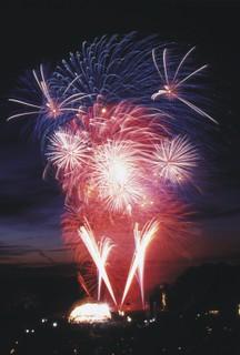 Fantastic Fireworks at Leeds Castle, Maidstone