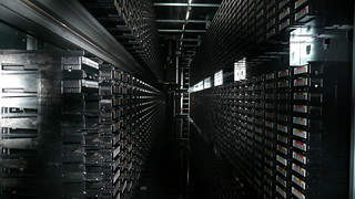 Tape library, CERN, Geneva 2 | by gruntzooki