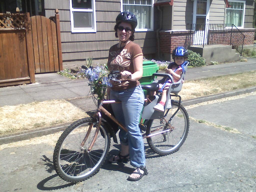Zoe's First Bike Ride