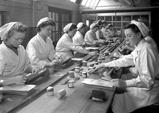 Women at Work - Wright's Biscuits