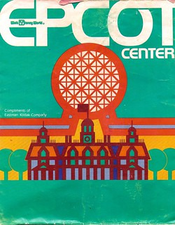 EPCOT Center map 1983 1   by Gator Chris