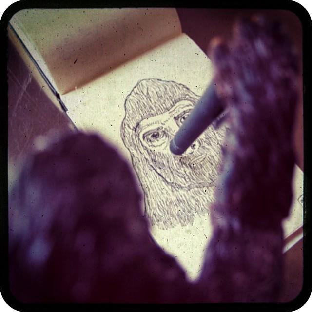 Bigfoot Self Portrait TtV