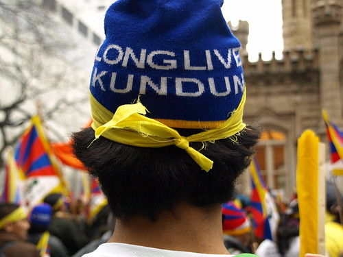 Long Live Kundun: Chicago's Free Tibet Protest March 18, 2008