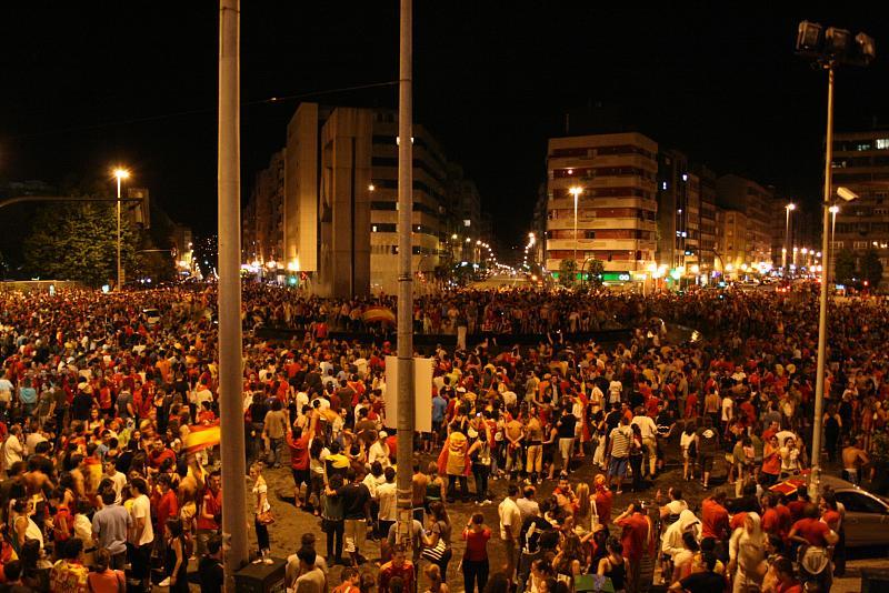 Vigo celebra la Eurocopa   Celebración en Vigo de la victori…   Flickr