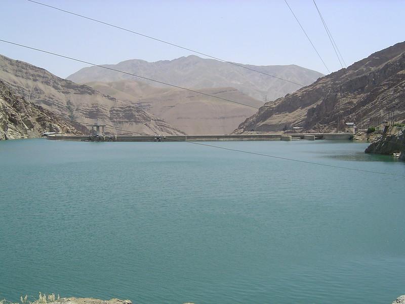 Iran - reservoir near Karaj