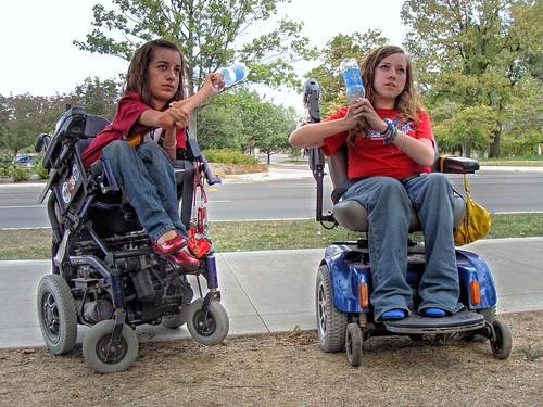 school friends laura college 100views natalie 500views 50views hdr bsu russo wheelchairs ballstate medcalf natalierusso lauramedcalf