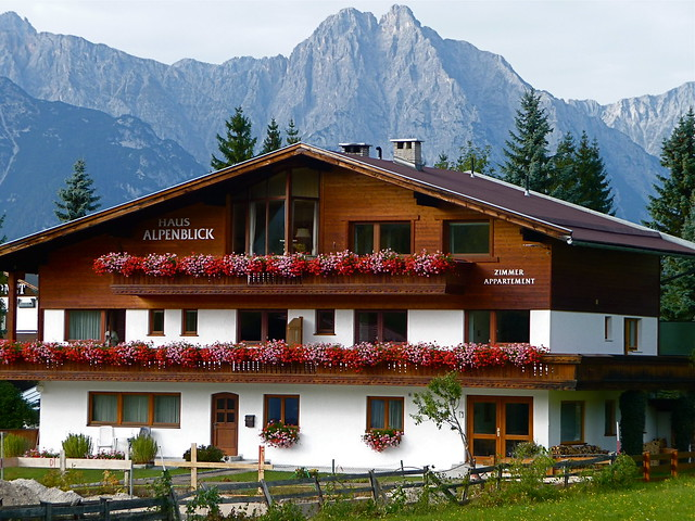 Typical hotel in Seefeld