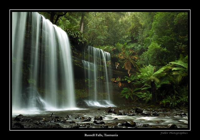 Russell Falls (Framed)