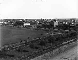 Lethbridge from hotel, AB, 1904