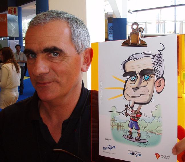 www.marceloguerra.com.ar / CARICATURAS EN EVENTOS / caricaturas en fiestas