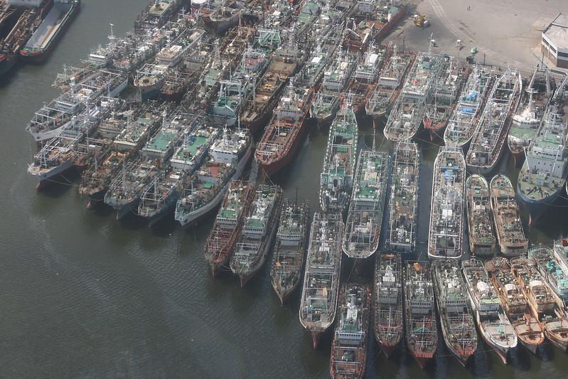 Pesqueros, Montevideo