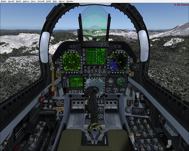 VRS-F18 cockpit | Payware F18 Super Hornet from VRS  Picture