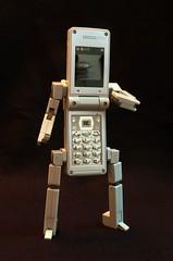 DX PHONE BRAVER 7 ROBOT MODE | by JOE WU