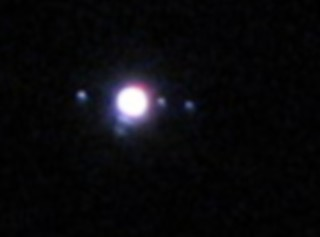 jupiter and moons (cropped and enlarged) | by Keithius