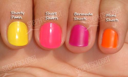 Essie Neon Nail Polish | Essie\'s neon collection for summer.… | Flickr