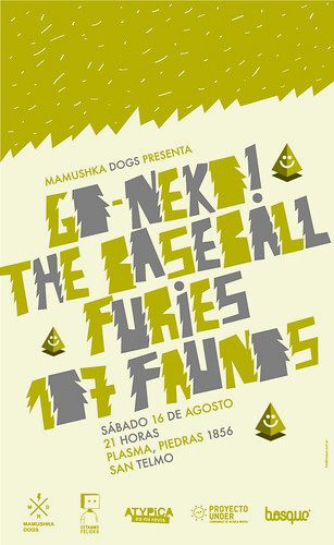 Go-Neko! + The Baseball Furies + 107 Faunos | by Mamushka Dogs