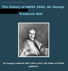 George Still ADHD & the undermining of free will