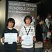 Thu, 20/11/2008 - 14:11 - Rodrigo Barreiro e Juan Sebastián Pirola, do Colexio Guillelme Brown de Pereiro de Aguiar, Ourense (1º premio). Galiciencia. 20 de novembro de 2008.
