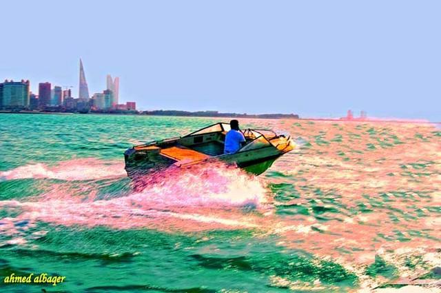 Fast Boat   قارب محرقي سريع