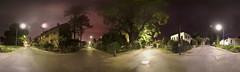 night crossway panorama