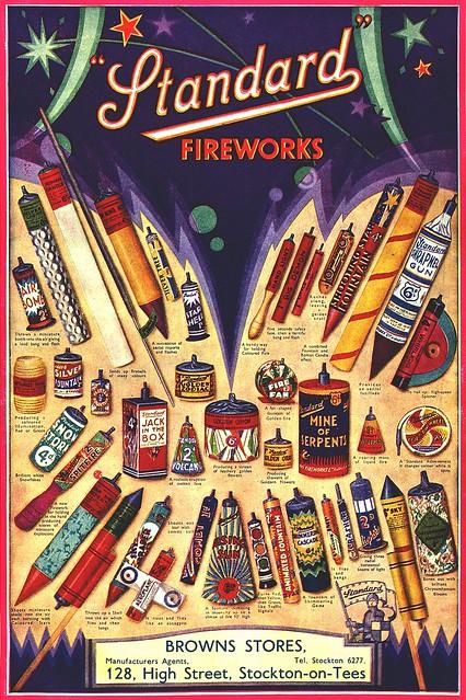 Standard Fireworks Poster
