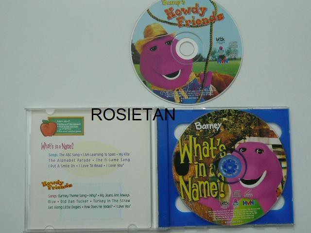 Barney's A to Z with Barney | Price: RM9 00 2 VCDs - Howdy F