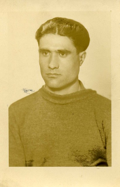 possibly a portrait-picture of one of the Armenian POW's in Middelharnis , Flakkee , Holland , who were , shortly before the end of the war , all executed by the German occupiers