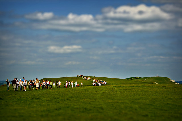 Walk the Wight #2 - Attack of the miniature lomo fundraisers