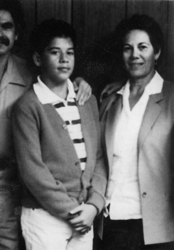 Oscar Lopez at USP Leavenworth circa 1984