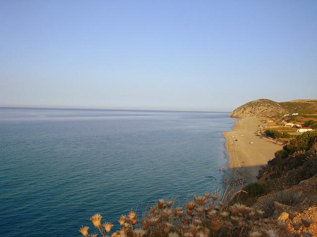 mourteri, evia island, greece