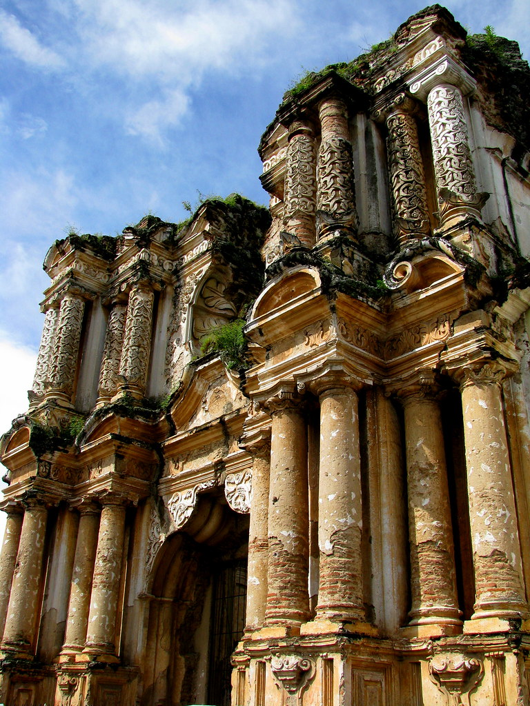 Fachada De Las Ruinas Del Carmen, Antigua Guatemala  Flickr-8241
