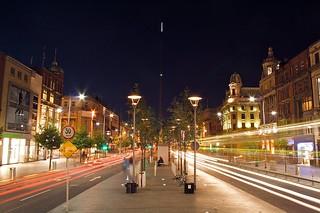 O'Connel Street at night | by schreiblockade