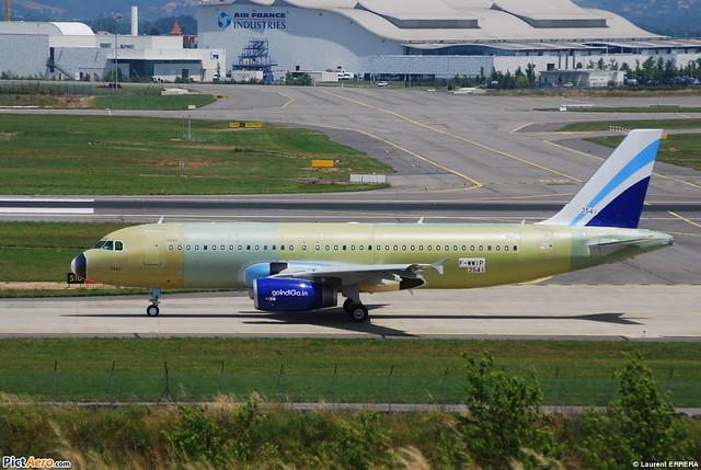 Airbus A320-200 IndiGo AL (IGO) F-WWIP - MSN 3541 - Will be VT-INU