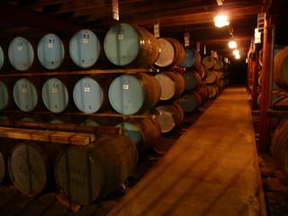 Maturation warehouse, Glenrothes distillery   by yvescosentino