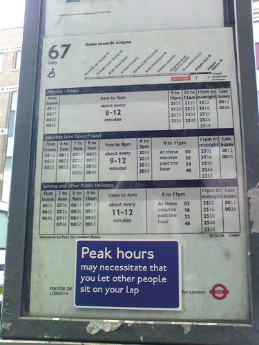 London Bus Sign | by Cubitus (Berlin, Germany)