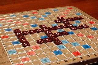 Web Marketing Scrabble | by therichbrooks