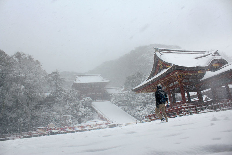 雪の鎌倉_02