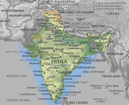 Mapa De India Jesus T Flickr